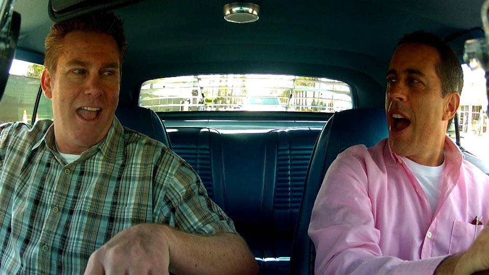 Jerry Seinfeld  &  Brian Regan on Comedians in Cars Getting Coffee