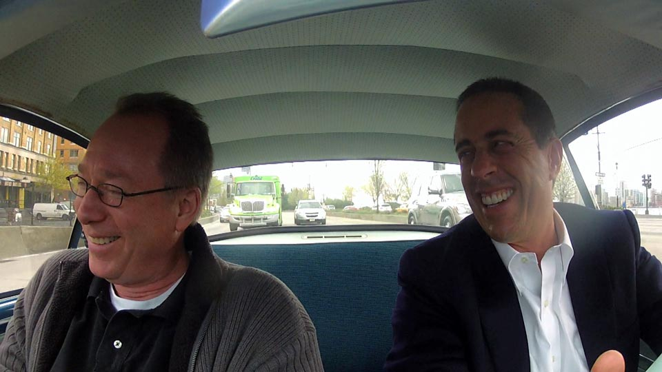 Jerry Seinfeld  &  Joel Hodgson on Comedians in Cars Getting Coffee