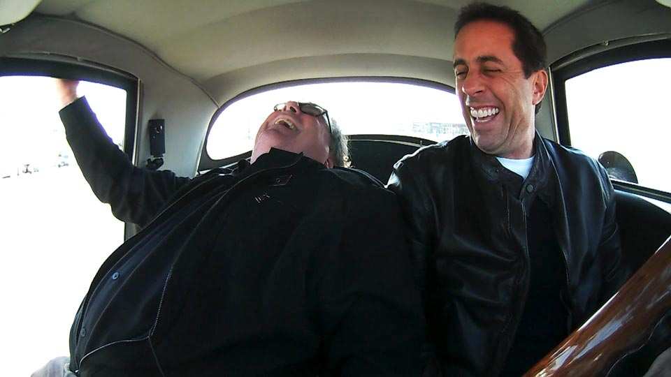 Jerry Seinfeld  &  Barry Marder (Ted L. Nancy) on Comedians in Cars Getting Coffee