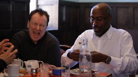 Jerry Seinfeld, Colin Quinn  &  Mario Joyner on Comedians in Cars Getting Coffee