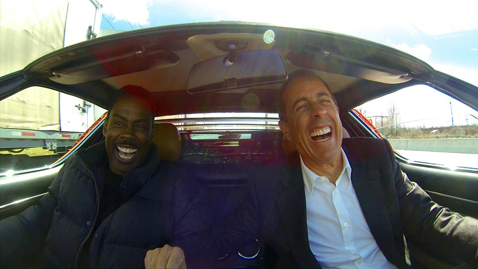 Jerry Seinfeld  &  Chris Rock on Comedians in Cars Getting Coffee