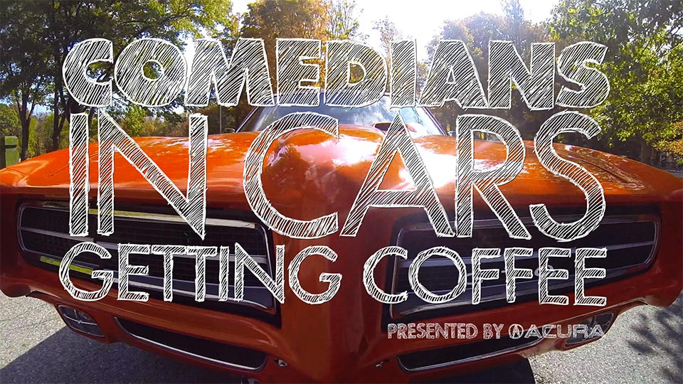 Jerry Seinfeld  &  Next Week's Trailer on Comedians in Cars Getting Coffee