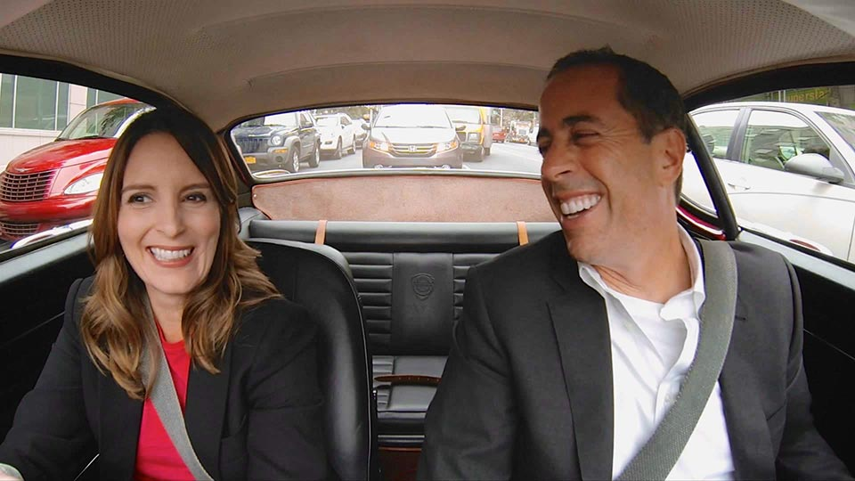 Jerry Seinfeld  &  Tina Fey on Comedians in Cars Getting Coffee