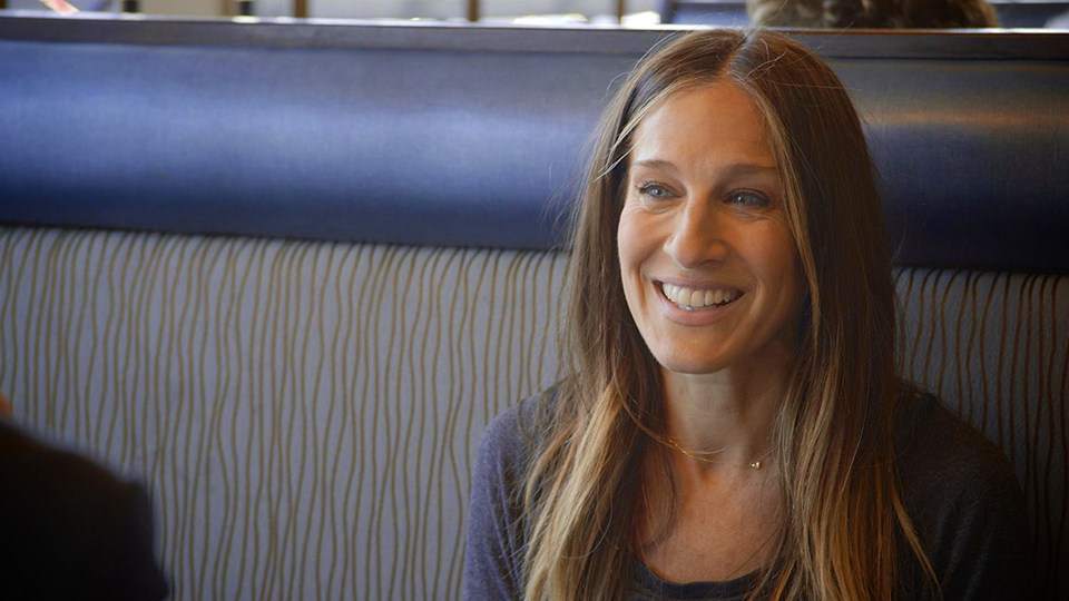 Jerry Seinfeld  &  Sarah Jessica Parker on Comedians in Cars Getting Coffee
