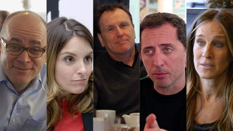 Jerry Seinfeld, Todd Barry, Gad Elmaleh, Tina Fey, Sarah Jessica Parker  &  Colin Quinn on Comedians in Cars Getting Coffee